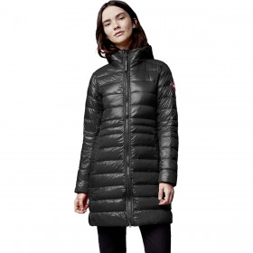 Canada Goose Women's Cypress Hooded Jacket Genuine Leather wholesale #CDGZ05W