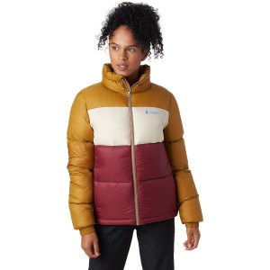 Cotopaxi Women's Solazo Down Jacket Genuine Leather Clearance #CTXB020