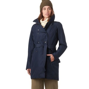 Helly Hansen Women's Welsey II Insulated Trench Coat Quality new in #HYH010C