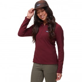 Patagonia Zip Fleece Pullover - Women's Micro D 1/4 4F Collection #PAT01S0