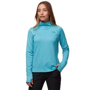 The North Face Zip Fleece Pullover - Women's Canyonlands 1/4 The Top Selling #TNF05JB