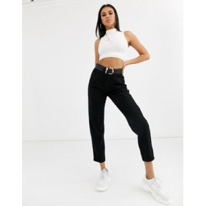 Missguided mom jeans in black Size Is 27 for Women's new look SHNP424