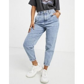 Object Roxanne high waisted jean in light blue 27 Inch Leg for Women's Boutique YZEP370