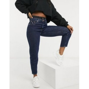 Tommy Jeans high rise mom jeans in dark wash On Line ADUL286