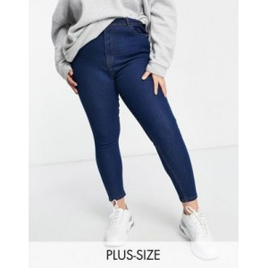 Wednesday's Girl Curve high waist skinny jeans in mid wash Size 1 Near Me QXYS269