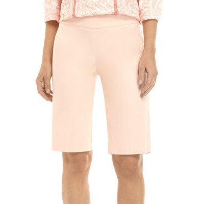New Directions® Women's Millennium Pull On Shorts Pink Salt Comfy - Women's Shorts The Most Popular RHIY626