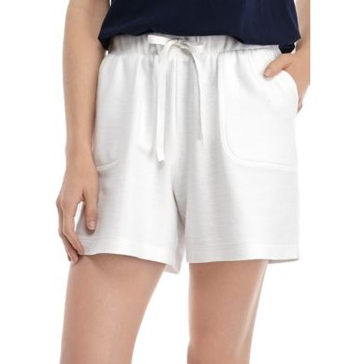 New Directions® Women's Wash Shorts White Fore Work - Women's Shorts Business Casual BGVO972