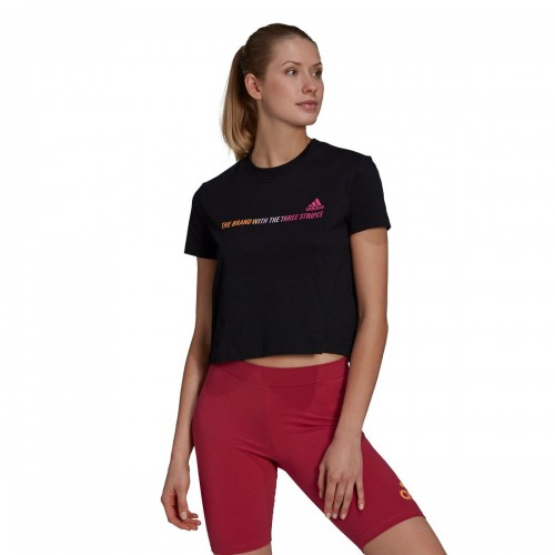 Adidas Shirt - Women's Gradient Logo Cropped T Recommendations