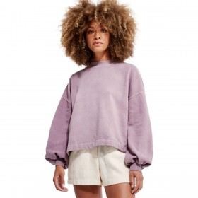 Back Beat Co. Women's Recycled Cotton Puff Sleeve Sweatshirt 2021 Trends #BBF000E