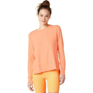 Beyond Yoga Sleeve Pullover - Women's Just Chillin Long Designer #BYYD045