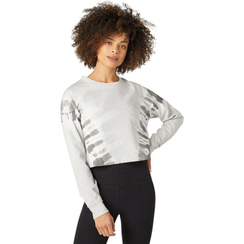 Beyond Yoga Women's Weekend Boxy Cropped Pullover