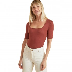 Marine Layer Women's Lexi Square Neck Top Quality For Sale