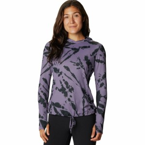 Mountain Hardwear Sleeve Hoodie - Women's Crater Lake Long For Summer #MHW01A0