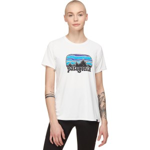 Patagonia Sleeve Shirt - Women's Capilene Cool Daily Graphic Short Quality #PAT02PT