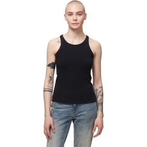Richer Poorer Women's Recycled Rib Tank Top Short Sleeve lifestyle