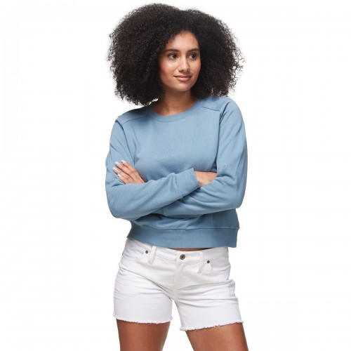 Stoic Women's Brushed Terry Crew Top 3XL #SICZ2FF