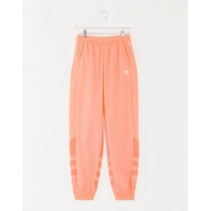 adidas Originals large trefoil track pant in coral Cool for Women for sale near me EOPG178