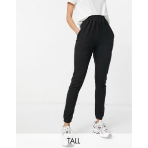 Missguided Tall basic sweatpants in black Business for Women new in PGOD961
