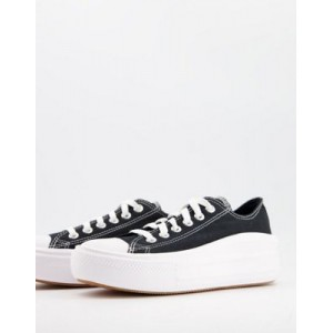 Converse Chuck Taylor All Star Move Ox canvas sneakers in black for Women In Sale WTER765