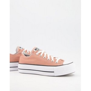 Converse Chuck Taylor All Star Ox Lift sneakers in rose gold Size 11 for Young Women Fit NKWI283