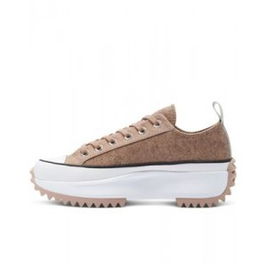 Converse Run Star Hike Ox felt sneakers in pink for Young Women Number 1 Selling VVBL843