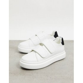 DESIGN Dasher sneakers in white for Women the best FDWP996