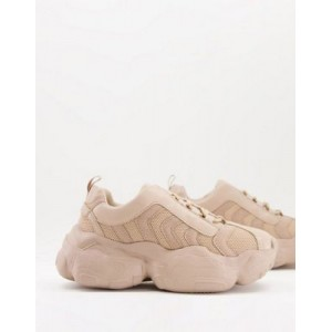 DESIGN Deject chunky sneakers in taupe Size 11 shop online XSYK791