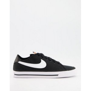 Nike Court Legacy Canvas sneakers in black for Women The Best Brand EDLU900