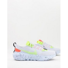 Nike Crater Impact sneakers in football gray/volt fashion guide WSLK250