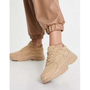 Public Desire Blend sneakers in beige drench Collection PETQ226