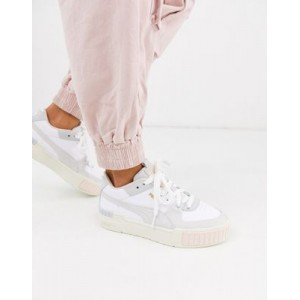 Puma Cali Sport chunky sneakers in pastel Extra Wide Fit MFRH283