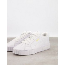 Puma Cali Star sneakers in triple white Everyday new look LHCP826