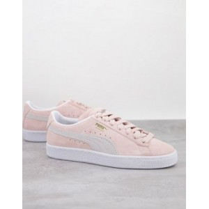 Puma classic suede sneakers in pink For Working Out for Women KSDX705