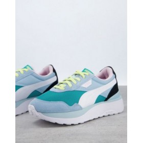 Puma Cruise Riders sneakers in blue In Narrow Sizes for Women CYIS948