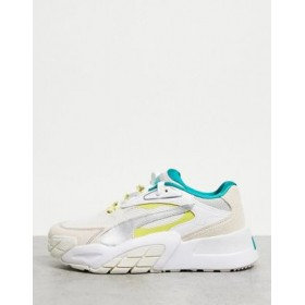 Puma Hedra sneakers in pink and gray quality PUYA804