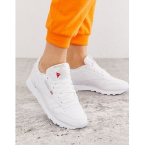 Reebok Classic White Leather Sneakers boutique UYJU165