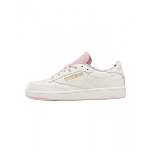 Reebok Club C 85 sneakers in chalk and pink hot topic DADE659
