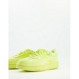 Reebok x Cardi B Club Cardi Coated Club C Double sneakers in lime Lifestyle for Young Women TTLA408