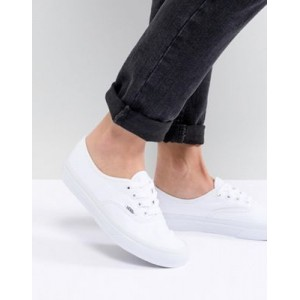 Vans Classic Authentic triple white sneakers for Women's On Line ZKWN696