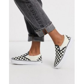 Vans Classic Slip-On Platform sneakers in checkerboard for Women The Most Popular QXKY248