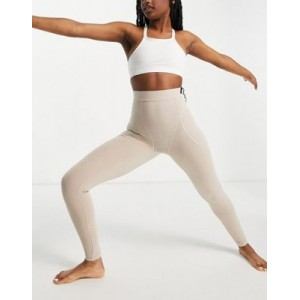 4505 yoga leggings with contour seaming in cotton touch Petite for Women outfits GRXY497