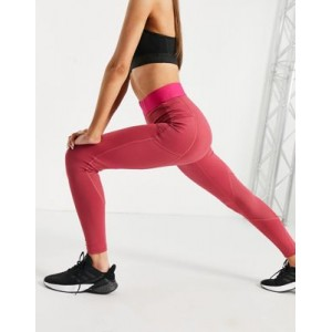 adidas Training logo leggings in pink Number 1 Selling AQVC516