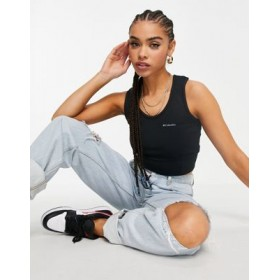 Columbia Windgates cropped tank top in black Sports Direct for Women outfits TEPA653