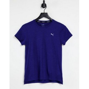 Puma Running Favorite t-shirt in blue Sports Direct online shopping KUOV549