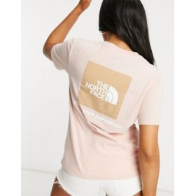 The North Face Box NSE t-shirt in light pink Big W for Women on style HQQO911