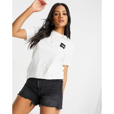 The North Face Fine t-shirt in white Training AYZE855