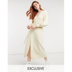 Outrageous Fortune exclusive knitted cardigan dress in off white Formal for Women's The Top Selling JSZA862