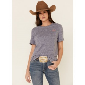 Ariat Women's Navy Country Song Graphic Tee High Quality - Short Sleeve Shirts business casual D0R2E5834