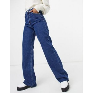 Mango ultimate straight 90s jeans in blue Size 4 for Young Women comfortable HDMZ867