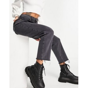 New Look straight-leg jeans in black Size 4 cool designs UIKW605
